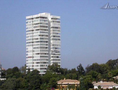 Instalación de calefacción y A.C.S. mediante gas natural en Edificio Diana (Marbella)